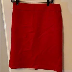 JCrew wool pencil skirt sz6